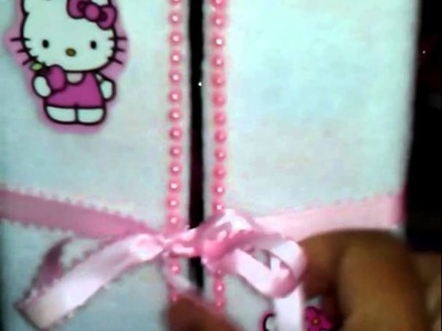 Manualidades,Bracelet organizer of hello kitty