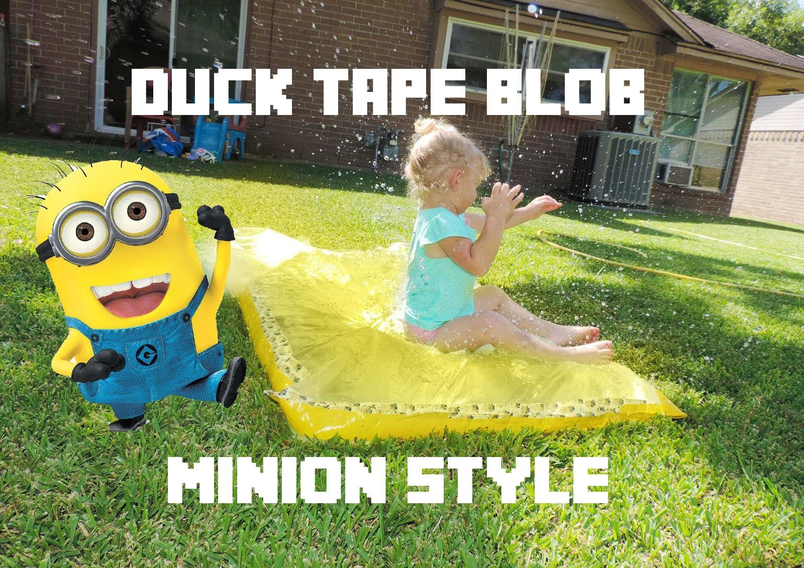 Minion Duck Tape Blob