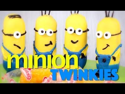 Minions Twinkie Treats! Despicable Me MINION NO BAKE Party Snacks | My Cupcake Addiction