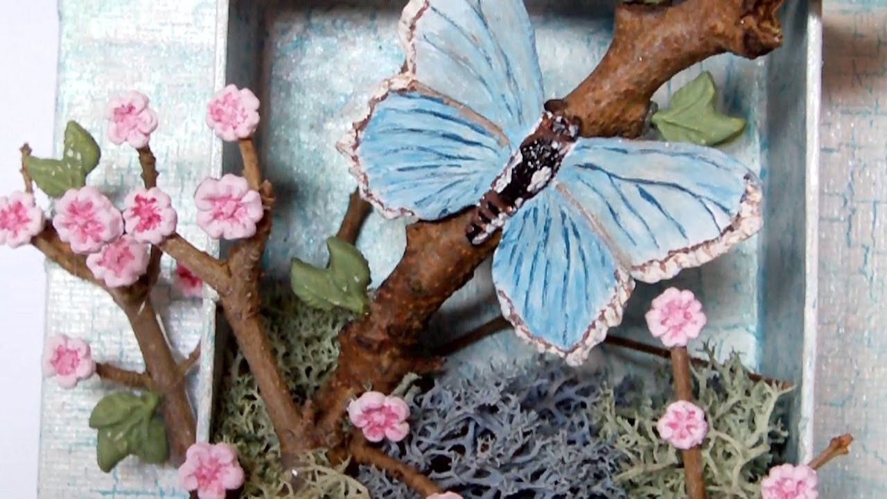 Mixed Media 3D Canvas - Spring