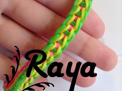 NEW Raya Rainbow Loom Bracelet