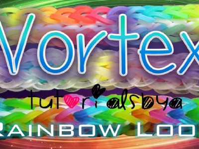 NEW Vortex RAINBOW LOOM Bracelet Tutorial