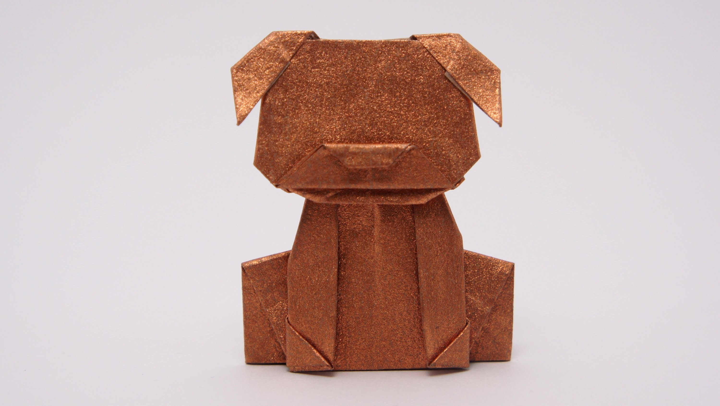 Origami Money Dog (Jo Nakashima)
