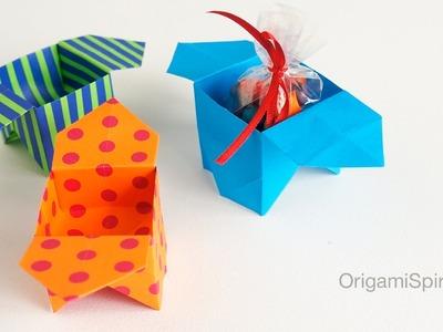 "Origami Sanbo Box : : Caja tradicional ""Sanbo"""