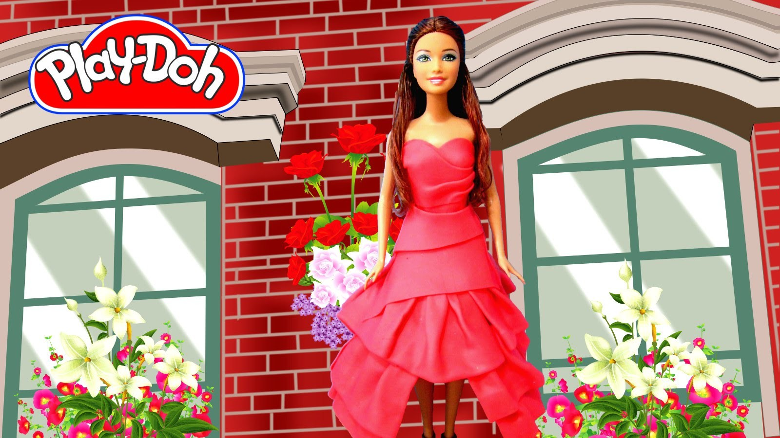 Play Doh Ariana Grande - Put Your Hearts Up Inspired Costume Play-Doh Craft N Toys