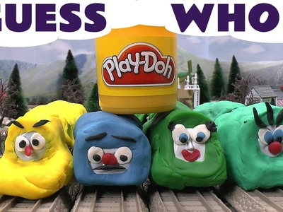 Play Doh Surprise Egg Shapes Guess The Engines 4  Thomas The Tank Play-Doh Thomas Tank Kids Toy