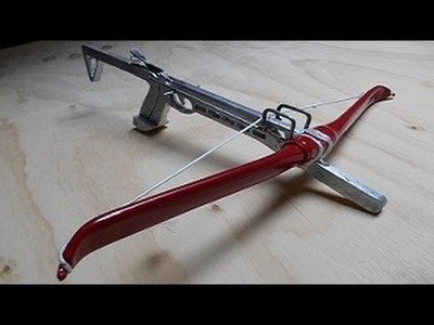 Pt 1 Make a Cast Aluminum Self Cocking Crossbow from Scratch!