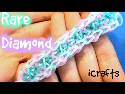 Rare Diamond Bracelet | Rainbow Loom Tutorial