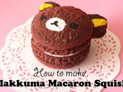 Rilakkuma Macaron Squishy Tutorial