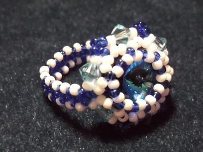 Rivoli Crystal Ring Tutorial