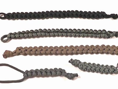 Slim Ripcord Survival Bracelet (550 Paracord Tutorial)