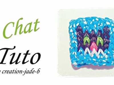 Tuto Rainbow Loom - Petit Mural Chat !