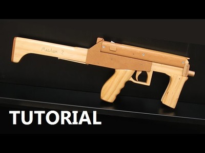Tutorial - full auto mag fed rubber band gun