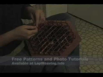Weaving on a Hexagon Loom