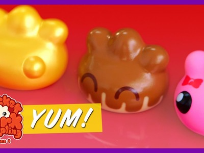 ADORABLE MYSTERY DUMPLINGS | Kyoot Toy Show 4K | Strawburry17