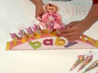 Arco dulcero baby shower