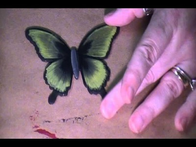 Butterfly    Easy Chisel blend technique