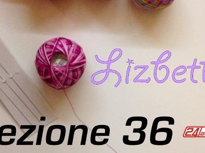 Chiacchierino Ad Ago - 36˚ Lezione Lizbeth Handy Hands Thread Holder Tutorial Infila Perline Tatting