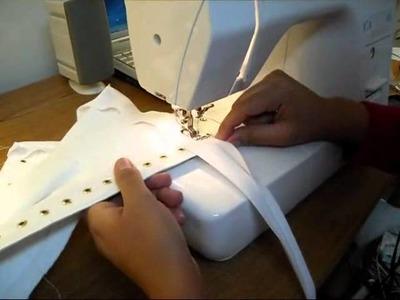 Corset Making: Applying binding | Lucy's Corsetry