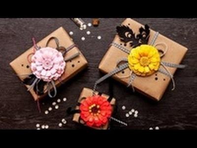 Create a Paper Zinnia Flower with Spellbinders dies