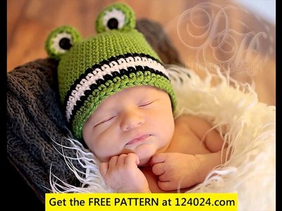 Crochet baby hat for boy