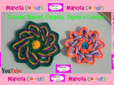 Crochet Tutorial Tapete