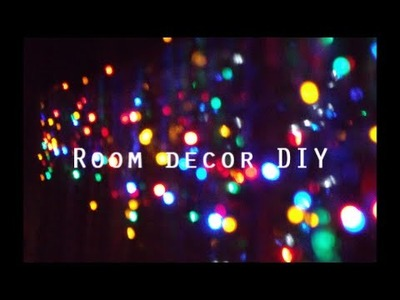 DIY Decora tu habitación. Room decor MayDIY