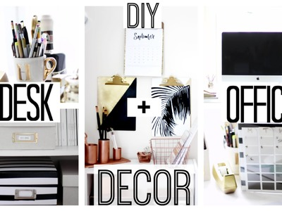 DIY Desk + Office Decor | Anthropologie + Kate Spade Inspired