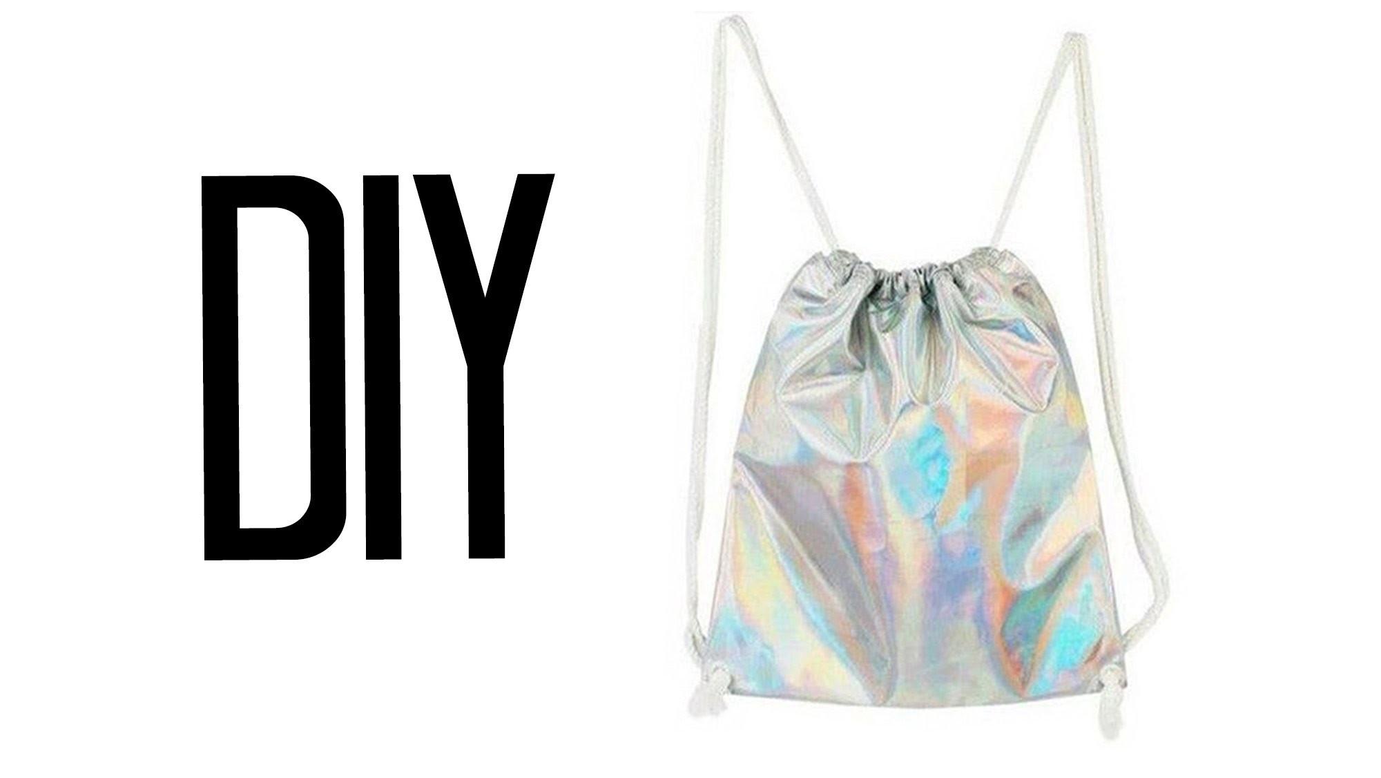 DIY Drawstring Backpack | Make Thrift Buy #22