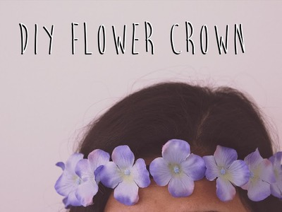 DIY Flower Crown | Quick & Easy