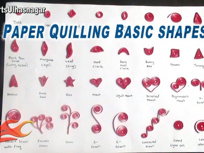 DIY Paper Quilling Basic Shapes | Quilling Tutorial for Beginners | JK Arts 588