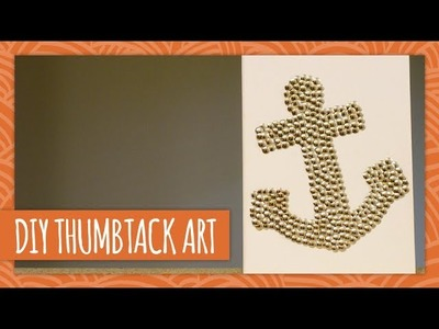 DIY Thumbtack Art - HGTV Handmade