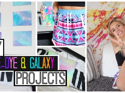 DIY Tie-Dye & Galaxy Projects | Phone Cases, Tapestries & More!