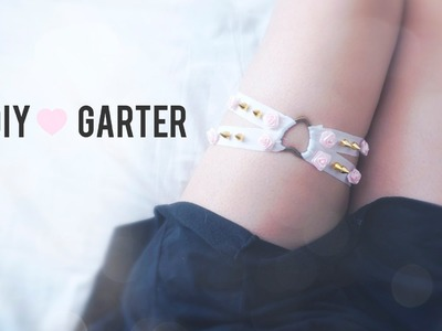 DIY Tumblr Pastel Studded Garter