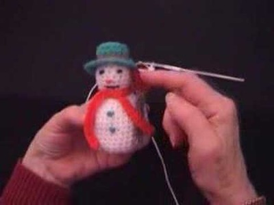 Easy Crochet patterns - Crochet Snowman