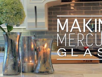 Easy DIY Faux Mercury Glass