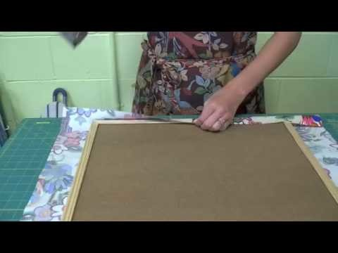 Fabric Wall Art - CRAFT Video Podcast