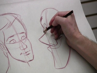 Facial proportions for cartooning, with Peter Emslie, part 1 of 2