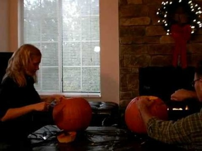 Halloween: How to Make a Jack O' Lantern