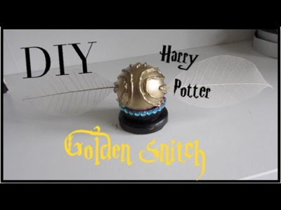 Harry Potter DIY I Golden Snitch Prop DIY! Quick Cheap and Easy