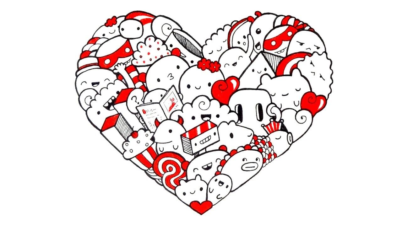 Heart Doodle ♥