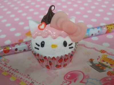 Hello Kitty Cupcake Paperweight Tutorial! =^.^=