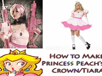 How to Create Your own Princess Peach Crown