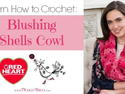 How to Crochet: Blushing Shells Cowl