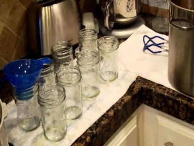 How to do home canning
