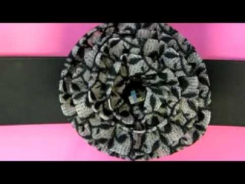 How To Make A Beautiful Fabric Flower Carnation Belt