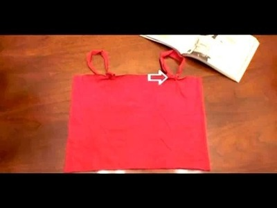 How-to make a Camisole, Threadbanger
