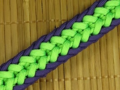 How to make a Woven Clove Hitch Paracord Sinnet (Paracord 101)