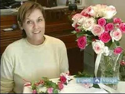 How to Make Flower Arrangements for Weddings : Caring For A Wedding Bouquet Floral Arrangement