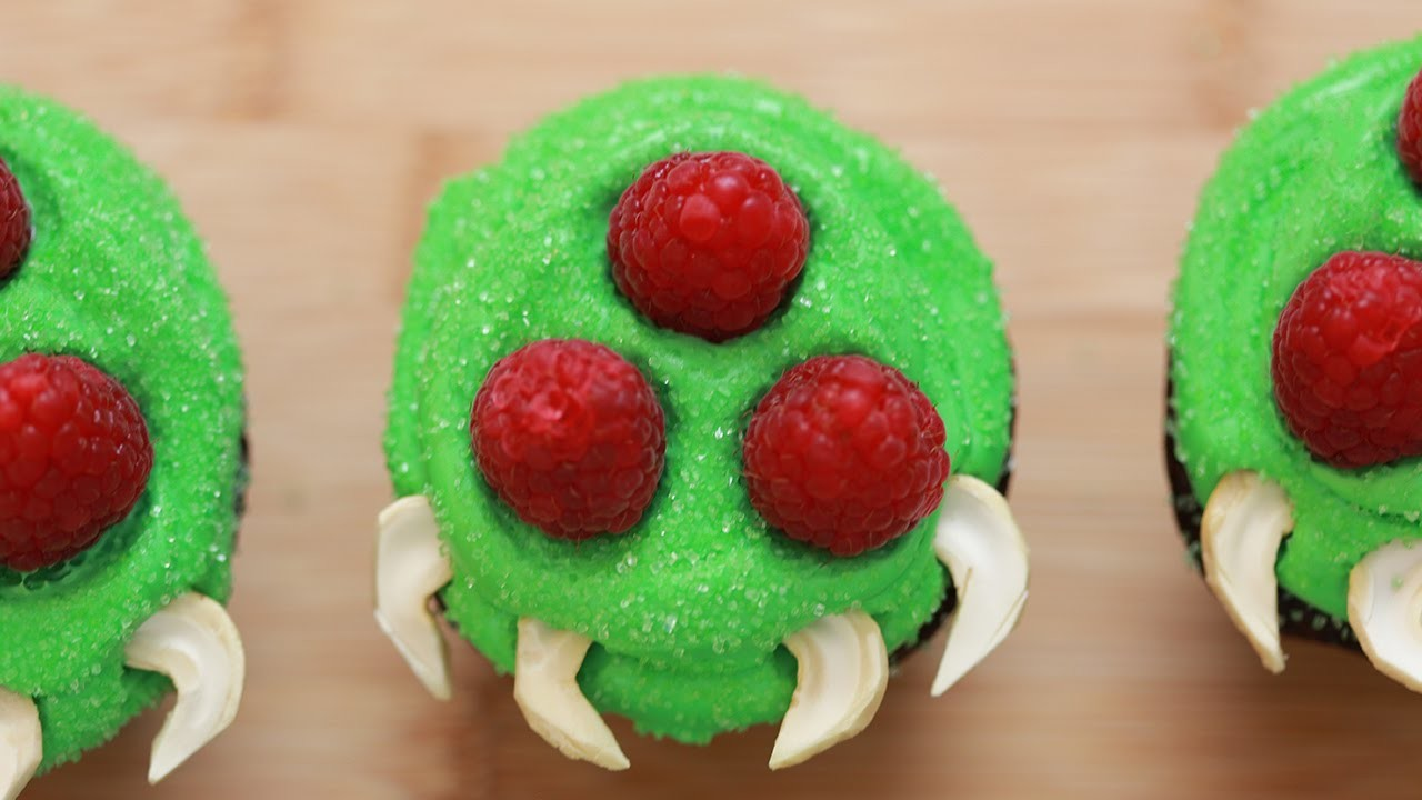HOW TO MAKE METROID CUPCAKES - NERDY NUMMIES